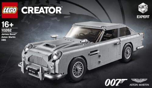 Lego R Creator 10262 James Bond Aston Martin Db5 1295 Teile 10262 Jetzt Kaufen Online Vor Ort