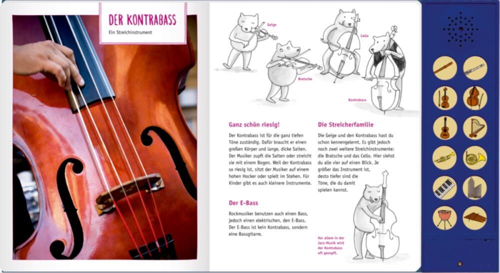 Musikinstrument Mit K