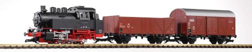 G Start-Set Güterzug BR 80 (inkl. Sound+Dampf)