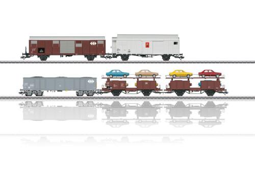 Märklin 46567 H0 Güterwagen-Set z.Rangier-Krokodil