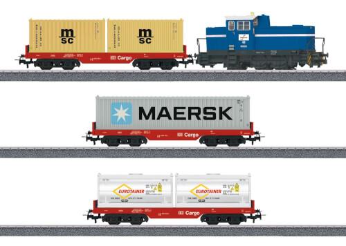 Märklin 29453 H0 Märklin Start up - Startpackung Containerzug