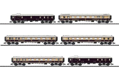 Trix T15539 N wagen -Set Rheingold DRG