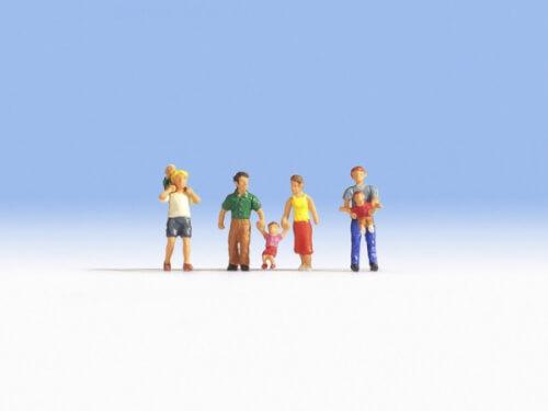 H0-Eltern und Kinder