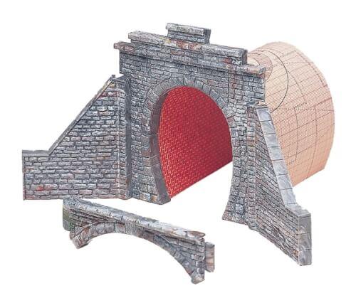 H0 Tunnelportal für Dampf- und Oberleitungsbetrieb