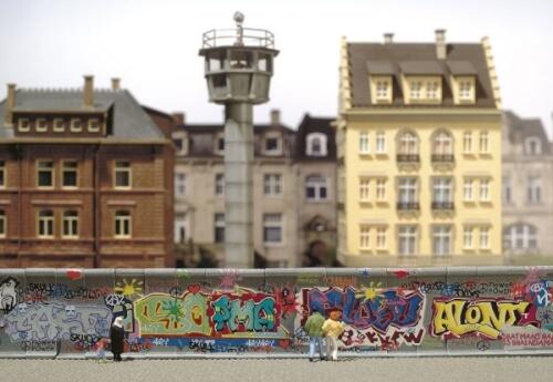 H0/TT Betonmauer