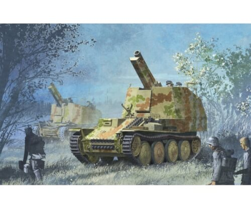 1:35 Sd.Kfz.138/1 Geschützwagen 38 M