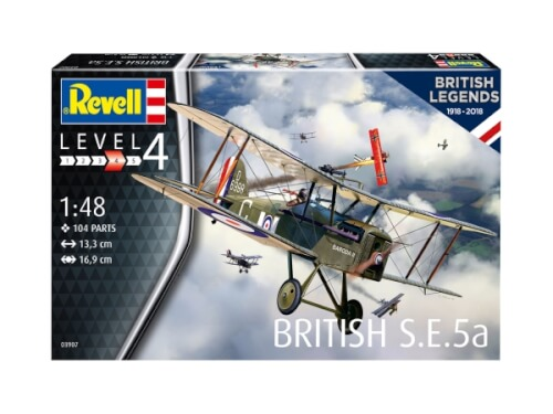 Revell 100 Years RAF: British S.E. 5A, 1:48