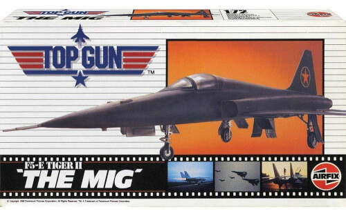 Glow2B Airfix Top Gun F5-E Tiger II ''THE MIG