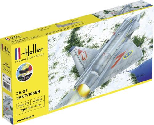 Glow2B Heller STARTER KIT Ja-37 Jaktviggen