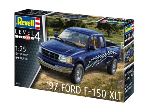 REVELL 07045 Modellbausatz '97 Ford F-150 XLT 1:25, ab 12 Jahre