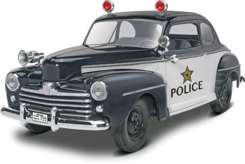 Revell 1948 Ford Police Coupe 2n1