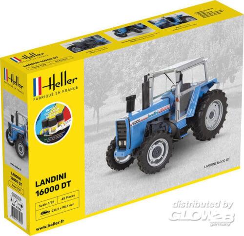 Glow2B Heller STARTER KIT LANDINI 16000 DT