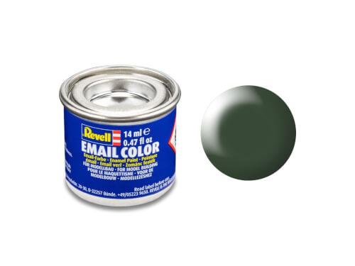 REVELL 32363 dunkelgrün, seidenmatt RAL 6020 14 ml-Dose