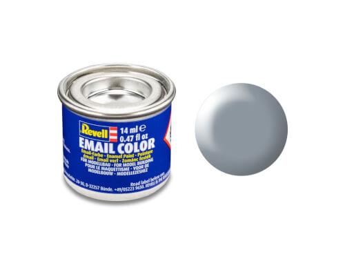 REVELL 32374 grau, seidenmatt  RAL 7001  14 ml-Dose