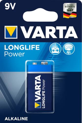 9V Block Varta High Energy