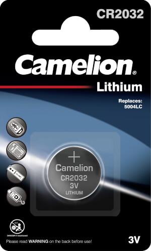 Camelion Batterien Lithium Knopfzelle, 3V, Lithium Blister