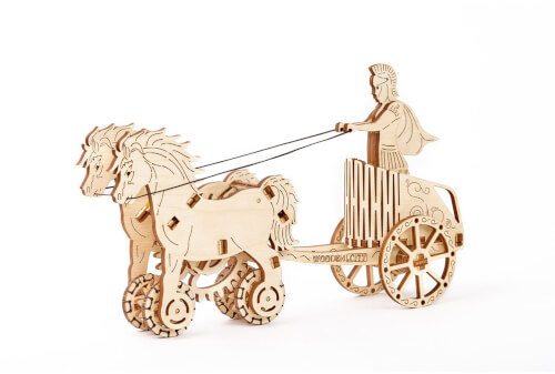 Wooden City: Roman chariot