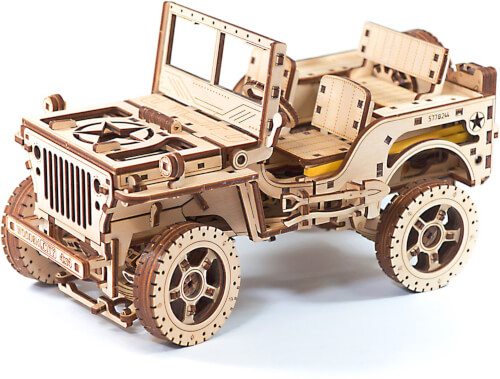 Wooden City: Jeep 4x4