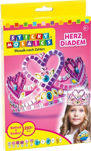 Sticky Mosaics Herz Diadem