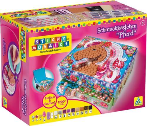 Sticky Mosaics Schmuckkästchen Pferd
