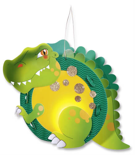Folia - Laternen Bastelset Motiv T-Rex