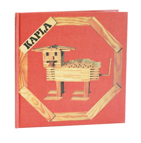 KAPLA Bücher - Buch 1 für Anfanger Rot - LIVR1