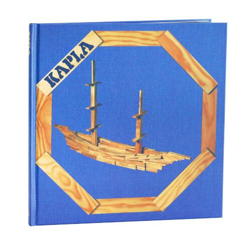 KAPLA Bücher - Buch 2 für Fortgeschrittene Blau - LIVR2
