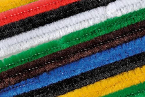 KNORR prandell 218476993  Biegeplüsch-Mix  2x weiß, 1x maisgelb, 2x rot, 2x grün, 1x blau, 1x dunkelbraun, 1x schwarz