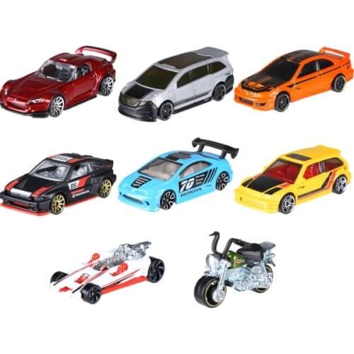 Mattel Hot Wheels FKD22  Themed Honda 70th sortiert