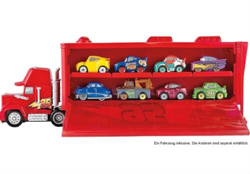 Mattel Cars FLG70 Disney Mini MackTransporter+ 1 Racer