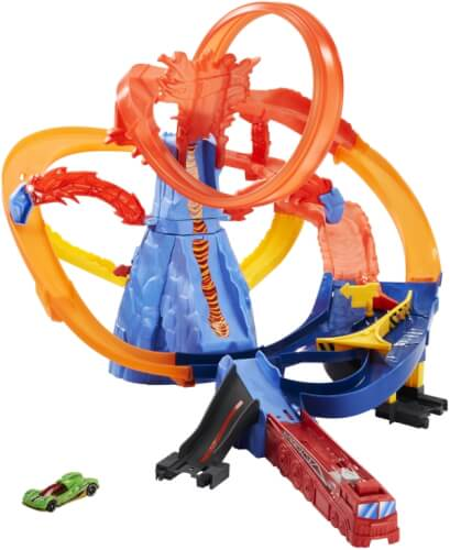 Mattel FTD61 Hot Wheels Volcano Highway Trackset