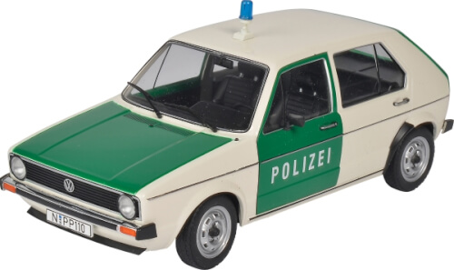 Schuco  1:18 VW Golf  Polizei