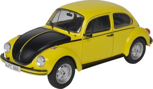 Schuco  1:18 VW Käfer 1303 GSR gelb