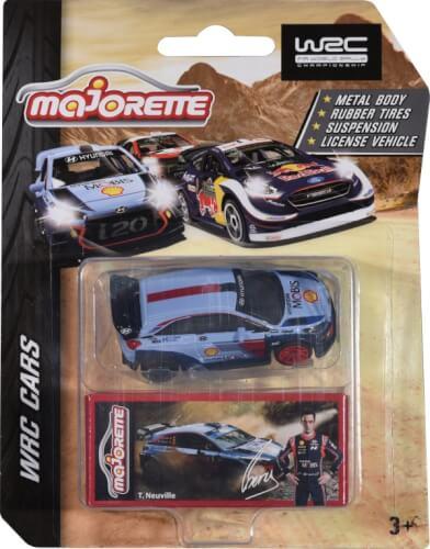 Majorette WRC Assortment, 4-fach sortiert