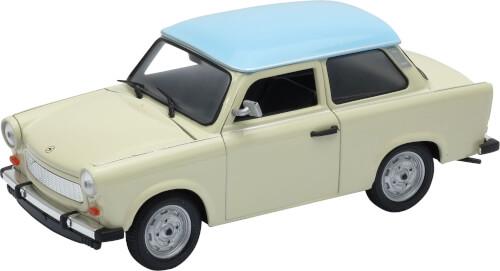Welly Trabant 601 1:24 zweifarbig cream
