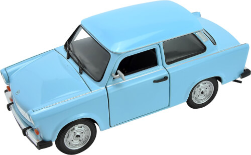 Welly Trabant 601 1:24 einfarbig cream