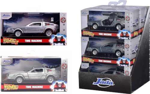 Time Machine Back to the Future Assortiert