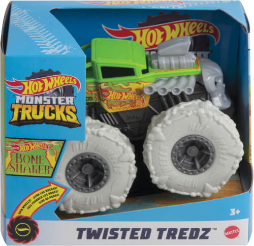 Mattel GVK37 Hot Wheels Monster Trucks 1:43 Monster Tredz, sortiert
