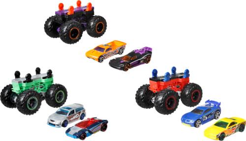 Mattel GWW13 Hot Wheels Monster Trucks 1:64 Monster Maker, sortiert