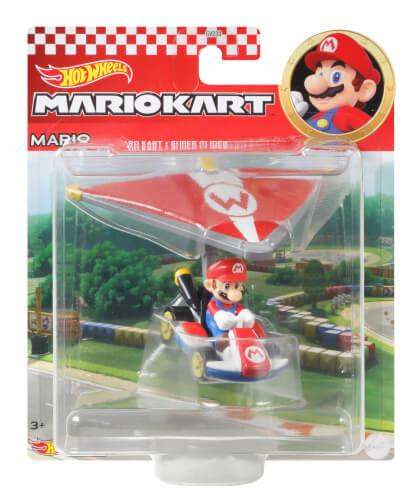 Mattel GVD30 Hot Wheels Mario Kart Glider, sortiert