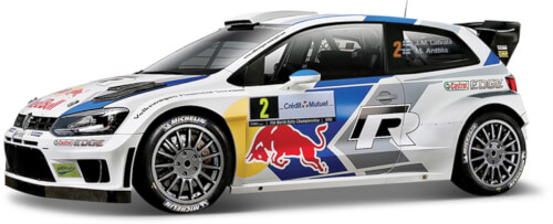 BBURAGO Rally Collection Dispenser sortiert,  Maßstab 1:32