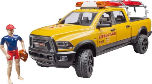 Bruder 02506 RAM 2500 Power Wagon LifeGuard mit Figur