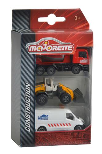 Majorette Construction 3 Pieces Set, 2-sortiert