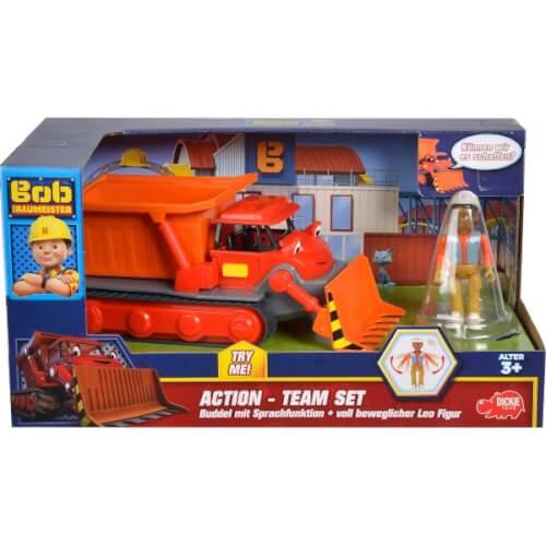 Simba Bob der Baumeister - Action-Team ''Buddel + Leo'', ca. 21 cm, ab 3 Jahre