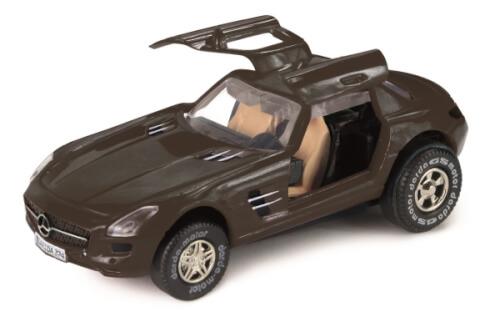 DARDA® MOTOR Mercedes-Benz SLS AMG, schwarz, Schaukarton