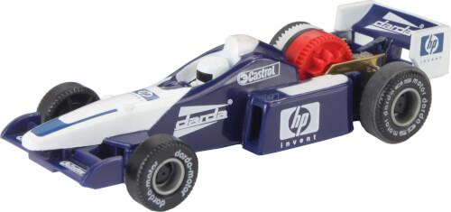 DARDA Formel-1-Rennwagen Blau-Weiß, 1:60, Kunststoff, ab 5 Jahre
