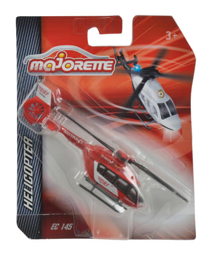 Majorette Helicopter Assortment, 6-fach sortiert