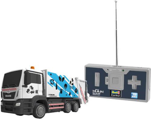 Revell Mini RC MAN TGS 26.320 Garbage Truck