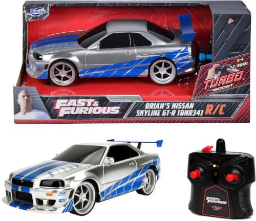 Jada Fast&Furious RC Nissan Skyline GTR 1:24
