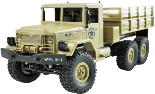 U.S. Militär Truck 6WD 1:16 sandfarben, RTR